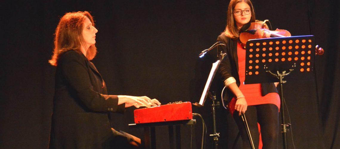 Sophie et Ilana mes musiciennes